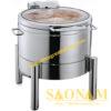Nồi Hâm Cháo -Soup Tròn Nắp Kiếng SN#520019