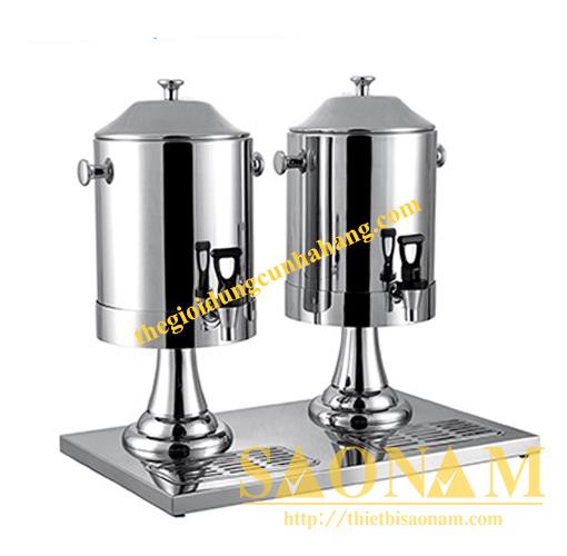 Bình Đựng Sữa Sacona Đôi Thân Inox SN#520127