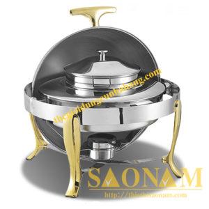Nồi Hâm Cháo - Soup Tròn Chân Vàng SN#520901